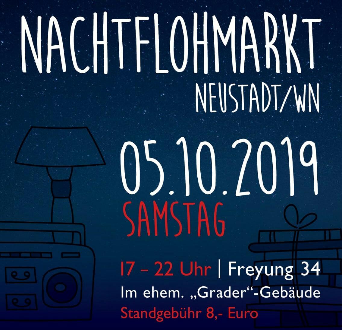 Der Neustädter Indoor-Nacht-Flohmarkt